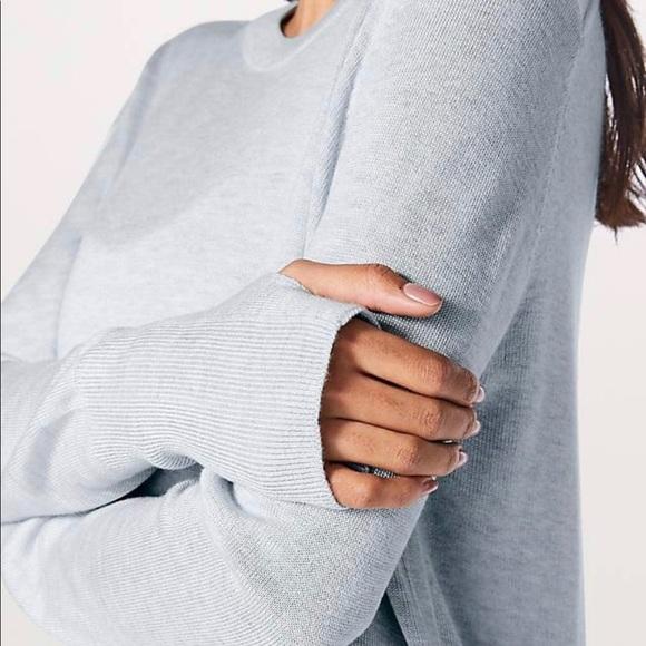 Lululemon Bring It Backbend Sweater Size 6
